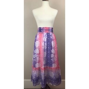 Justice Girls Maxi Skirt, Size 18